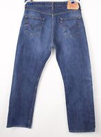 Levi's Strauss & Co Hommes 501 Jeans Jambe Droite Taille W36 L32 BBZ237