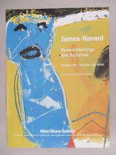 James Havard Art Gallery Exhibit PRINT AD - 2006