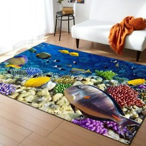 Stone Butterfly Carpet Bedroom Rug Long Kitchen Area Rug Decorative Sea Carpets