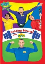 THE WIGGLES GETTING STRONG New Sealed DVD