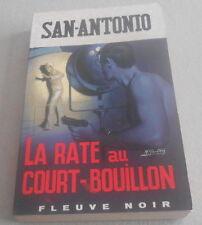SAN ANTONIO / la RATE AU COURT BOUILLON..Edition De 1969 ROMAN SPECiAL POLICE