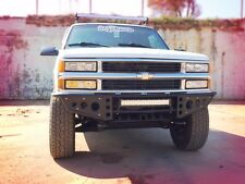 "Fabricated Front Bumper Baja w/ LED Light 95-98 Chevy/GMC K1500 w/ 3"" Body Lift"