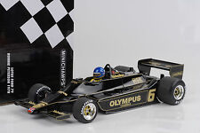 1978 Lotus Ford 79 #6 F1 Ronnie Peterson 1:18 Minichamps