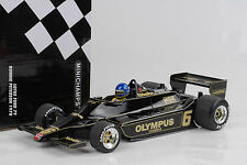 1978 ford Lotus 79 #6 f1 Ronnie Peterson 1:18 Minichamps