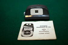 Gossen Enlarging Attachment For Luna Pro Exposure Meter w/ Instructions.