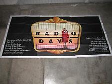 MANIFESTO 6F Radio Days 1987 Woody Allen  Mia Farrow  Diane Keaton BRIAN HAMILL
