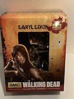 "Eaglemoss TWD #02 DARYL DIXON Walking Dead Collectors Model 3.5"" New Sealed"