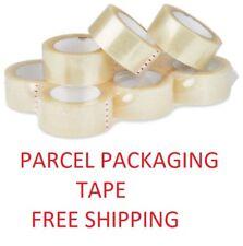 6 Paquete de Cinta de Embalaje Transparente Fuerte Grande SELLOTAPE embalaje rollos de 50mm X 66m