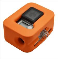Orange Floating Floaty Cover Box Protective Case Accessory for GoPro Hero 3+ 4