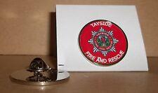 Tayside FIRE e Rescue Service bavero pin badge