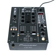 Pioneer DJM 400 2 Kanal DJ Mixer mit integrierter Effekteinheit