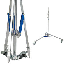 Baby Triple Riser with Casters Adjustable Light Stand Heavy Duty Photo Studio