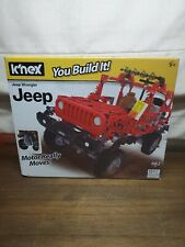 K'nex You Build It! Jeep Wrangler Motorized
