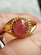 Jewelry Brass Ring Thai Ruby Gemstone Collection