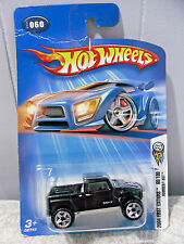 2004~HOT WHEELS~#060~1:64 DIECAST~FIRST EDITIONS 60/100 *HUMMER H3T*