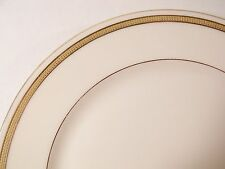 """Lenox Pattern J53 Dinner Plate(s) 9-7/8"""" Ivory w/Gold Encrusted Band"""