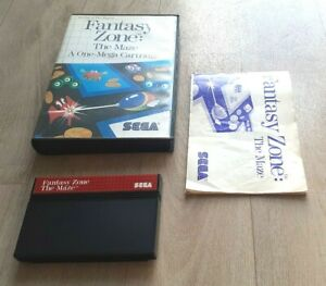 Fantasy Zone The Maze - SEGA Master System - Complet - PAL - Bon Etat