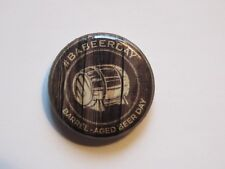 Beer BUTTON Pinback ~ The BRUERY Barrel Aged Beer Day; Orange County, CALIFORNIA