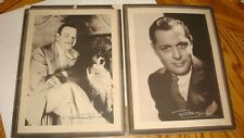 1934 Lux Toilet Studio Portrait Giveaway Lot Seven (7) Fascimile Autographs