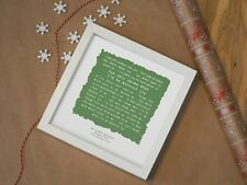 More details for the beach boys 'god only knows' - personalised framed lyrics print