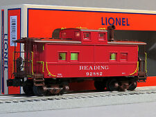 LIONEL READING NORTHEAST STYLE CABOOSE 92882 o gauge train red RDG 6-83357 NEW