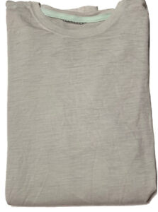 PATAGONIA~ GRAY LS WOOL BLEND BASE LAYER TEE ~ SIZE SMALL NEW