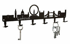 London Skyline - Key Hook England, Wall Key Holder - Hooks Design Steel - NEW
