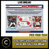 2019 TOPPS UPDATE SERIES JUMBO 6 BOX FULL CASE BREAK #A459 - PICK YOUR TEAM