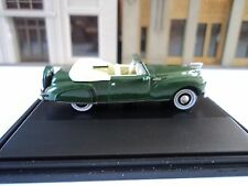 Oxford  1941   Lincoln  Continental  Convertible    Spode  Green  1/87   HO  car