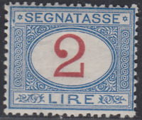 Italy Regno - 1903 Segnatasse (Tax) n.29 - cv 240$  super centered MH*