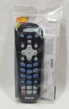 RCA Universal Remote Control #CRCR311B Controls Up To 3 Devices