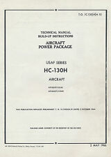 LOCKHEED HC-130H HERCULES - AIRCRAFT POWER PACKAGE - T.O. 1C-130(H)-10 1966