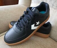 Converse Ox Rival Leather Trainers Mens Black/Gum UK 9 US 10 EUR 44 Casual Shoes