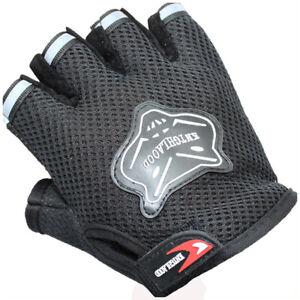 Summer Biker Gloves Riding Cycling Fingerless Dirt Bike MTB BMX Road Gear