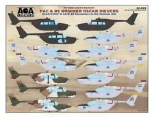 AOA decals 1/32 FAC & BS BOMBER OSCAR DEUCES O-2A/O-2B Skymasters in Vietnam War