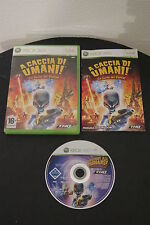 Xbox 360: Hunting Human: the Fury of named-Complete, Ita! destroy humans