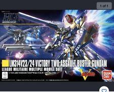 Bandai 1/144 HGUC 189 LM314V23/24 V2 Assault Buster Gundam