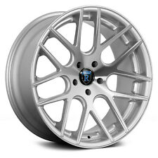 ROHANA RC26 in 9&10x20 / 5x112 - Silver machined - SOFORT
