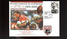 NORTH SYDNEY BEARS 1900-2000 RUGBY COVER, GREG FLORIMO