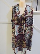 QUELQUE SIZE 14 - 16 STUNNING TUNIC TOP SHORT DRESS LOWER POCKETS 'PERFECT'