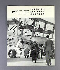 IMPERIAL AIRWAYS GAZETTE AUGUST 1935 GUIDE TO AFRICA ROUTE - AIRWAYS HOLIDAYS