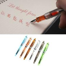 Jinhao 992 Transparent Fountain Pen 0.5mm Stationery Supplies Writing Tools Gift