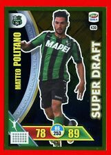 CALCIATORI 2017-2018 18 -Adrenalyn Panini- n. 430 -POLITANO-SASSUOLO-Super draft