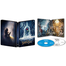 Beauty and the Beast 2017 Best Buy Exclusive SteelBook Blu-ray + DVD Emma Watson
