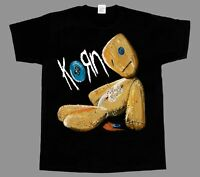 KORN ISSUES ROCK BAND  NEW BLACK SHORT/LONG SLEEVE T-SHIRT