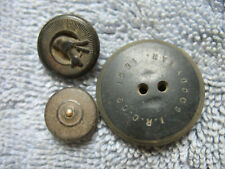 New listing Dug (3) Goodyear Rubber Buttons From Berdan's Sharpshooters Camp in Va.