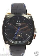 Misaki Herren Armbanduhr Edelstahl Leder schwarz QCRWMC98M6 #Preis reduziert#