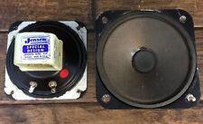"Pair Jensen Special Design P35 VAH 3.5"" Tweeters Pilot 602 Tube Console Pull"