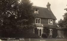 Little Ratton Willingdon Nr Eastbourne unused RP old pc