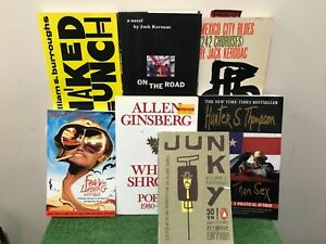 BEAT GENERATION LOT - Jack Kerouac, William S Burroughs, Allen Ginsberg, Hunter